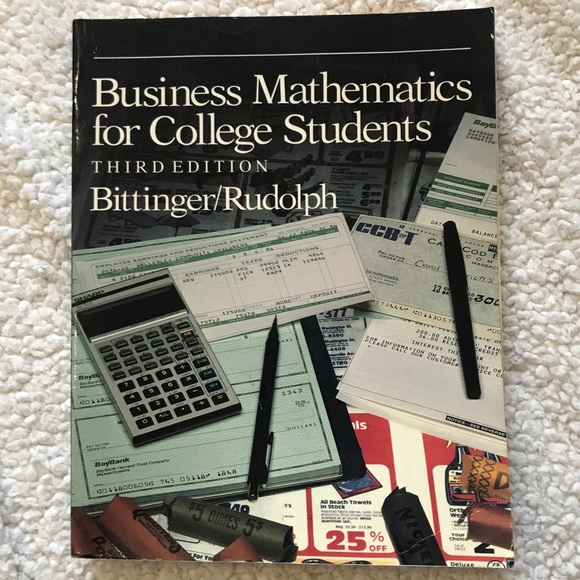 Business Mathematics for College Students 3rd ed
